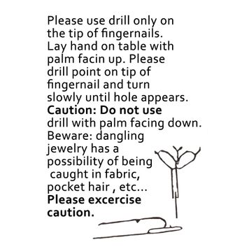 Sterling Silver Nail Tip Jewelry