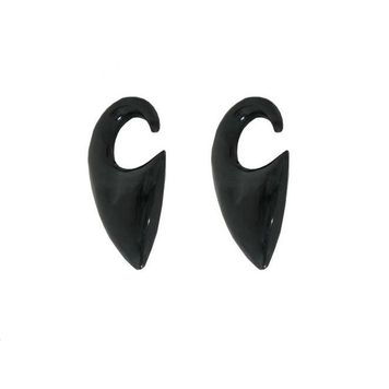Pair of  Water Buffalo Horn Claw Ear Plugs