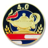 1 INCH DIAMETER 4.0 LAPEL PIN