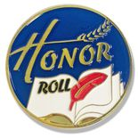 1 INCH DIAMETER HONOR ROLL LAPEL PIN