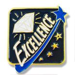 1 X 1 INCH EXCELLENCE LAPEL PIN