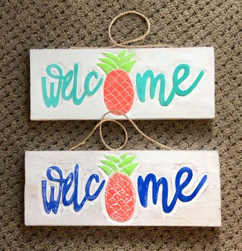 Decorative Painted Signs