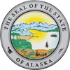 Alaska State Seal Wall & Podium Plaque