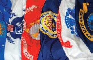 Armed Forces Flag Indoor & Parade Set (Set of 5)
