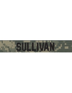 Army ACU Name Tapes