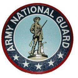 Army National Guard Wall Plaques