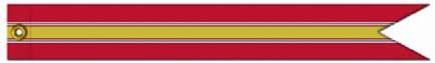 "ARMY/USAF Campaign Streamer ""National Defense"""