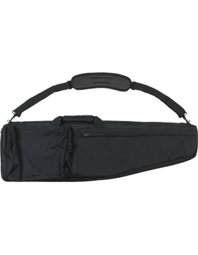 Black Nylon Ceremonial Rifle Case