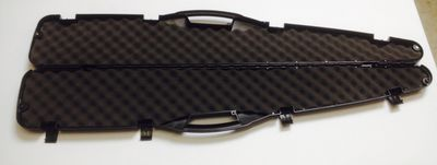 Black Polymer Rifle Transport Case