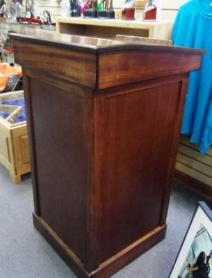 Custom Made Wood Podium