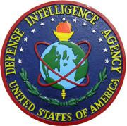 Defense Intelligence Agency Wall & Podium Plaques hand Carved Mahogony