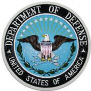 Department Of Defense Wall & Podium Plaques hand Carved Mahogony