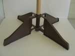 Foldable Guidon Pole Floor Stand