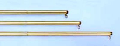 Gold Adjustable Aluminum parade Pole