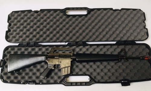 M-16 Replica Rifle with Transport/Case