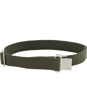 OD Green Web Rifle Sling w/Silver Finish