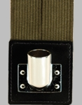 Olive Drab Web Flagset Carrier w/Chrome Cup