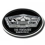 Pentagon Wall Plaque