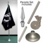 POW/MIA Indoor Flag Set