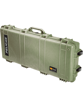 Ruggedized Rifle case w/Wheels and Foam Inserts
