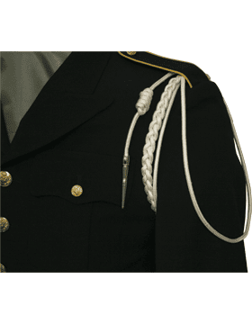 uniform shoulder cord with pin