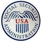 Social Security Administration Wall & Podium Plaques hand Carved Mahogony