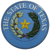Texas State Seal Wall & Podium Plaque