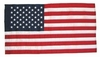 U.S. 3x5Ft Nylon Presentation Flag (No Fringe)