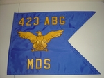 U.S. Air Force Guidon Regulation Size (Single sided)