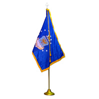 U.S. Air Force Indoor Flag Presentation Set