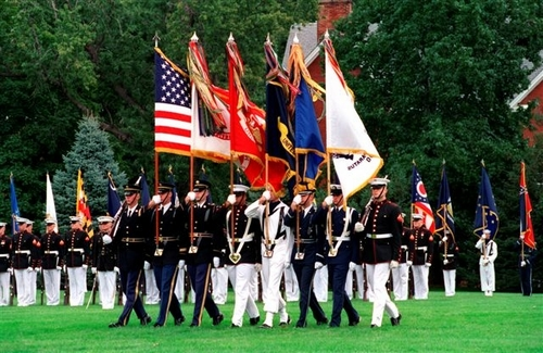 U.S. Armed Forces Ceremonial  & Positional Flags (Mil-Spec)