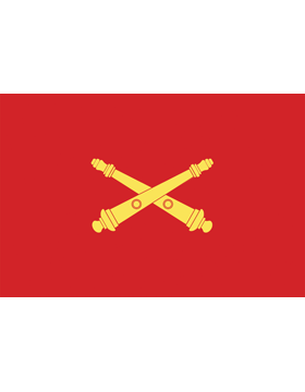 U.S. Army Field Artillery Vessel Flag