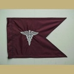 U.S. Army MEDICAL CORPS Regulation Size Guidon