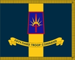U.S. Army  Numbered Troop Commands 3x4Ft Organizational Flag