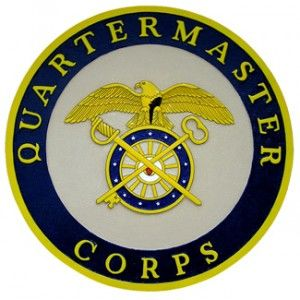 U.S. Army Quartermaster Corps Wall & Podium Plaque