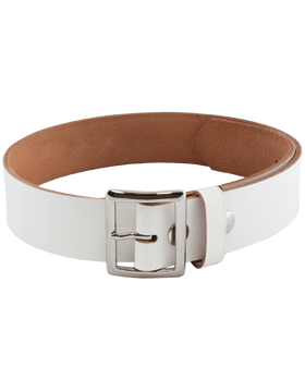"White 1 3/4"" Sabre Garrison Belt"