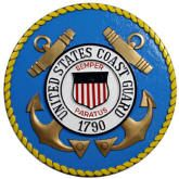 U.S. Coast Guard Podium & Wall Plaque