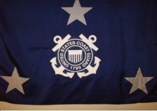 U.S. Coast Guard Vice Admiral Flag (3 Star)
