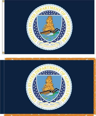 U.S. Department Of Agriculture Flags