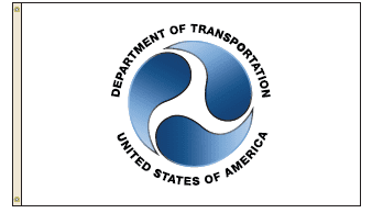 U.S. Department Of Transportation Flags