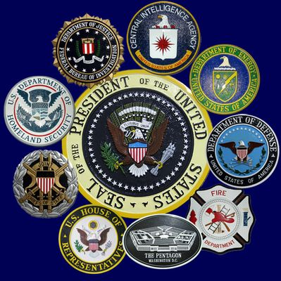 U.S. Government Agency Plaques