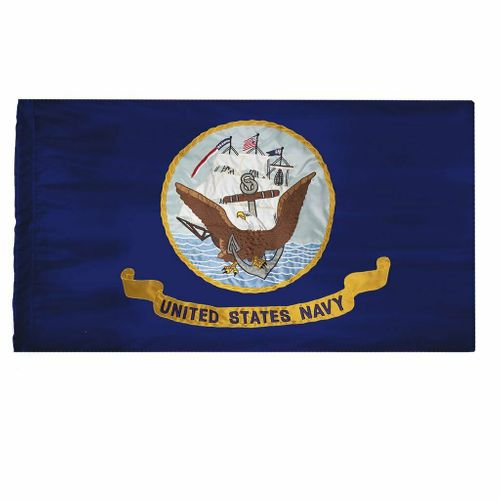 U.S. Navy 3x5Ft Ceremonial Flag (G-Spec)