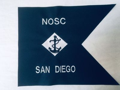 "U.S. Navy 9""x12"" Mini Framable Guidon"