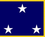 U.S. Navy 3 Star Admiral Flags (Vice Admiral)