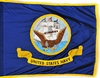 U.S. Navy Departmental Ceremonial Rayon Or Nylon Flag