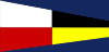 U.S. Navy Number 9 Signal Pennant