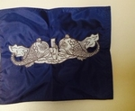 US Navy Enlisted Submarine Warfare Excellence Pennant (Silver)
