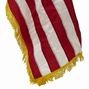 USA Nylon Indoor Embroidered Flags (G-Spec)