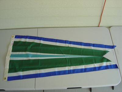 USCG Meritorious Unit Commendation Pennant (G-Spec)