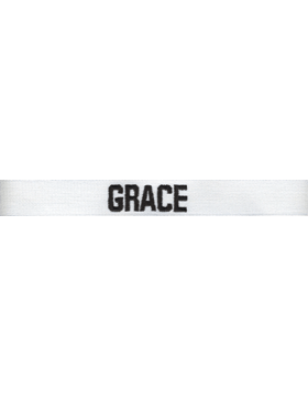 White Uniform Name Tape